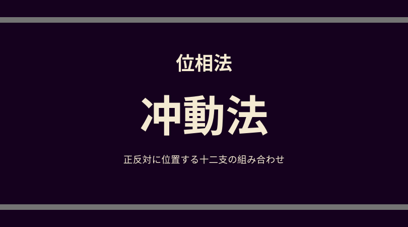位相法:冲動(対冲)法ロゴ