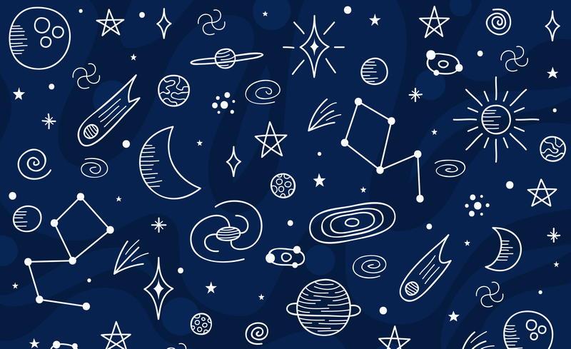夜空の星たち