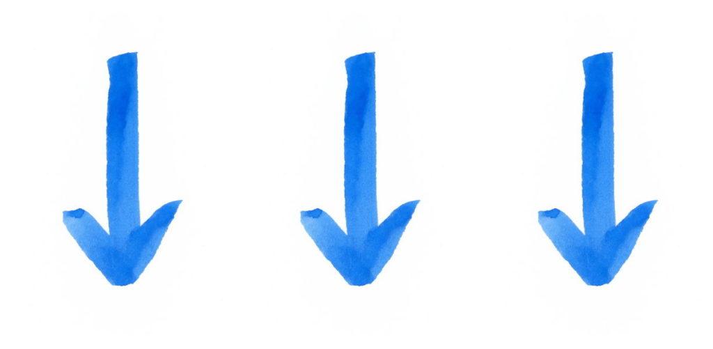 矢印の図形